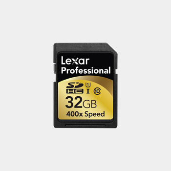 Lexar 32GB 400X UHS-I SD Card 